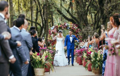 Huwelijksuitnodiging bruiloft